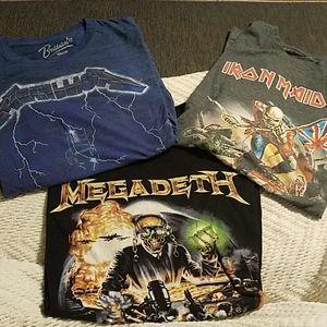 Heavy Metal t-shirts